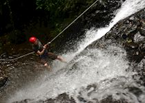 Simon canyoning, Costa Rica